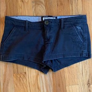 Abercrombie Navy blue shorts